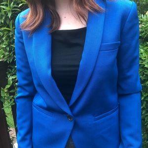 Royal blue J.Crew blazer